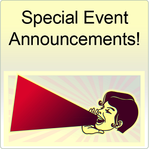 Coming Event Announcements
