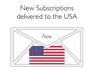 New (& new Gift) Subscriptions (USA)